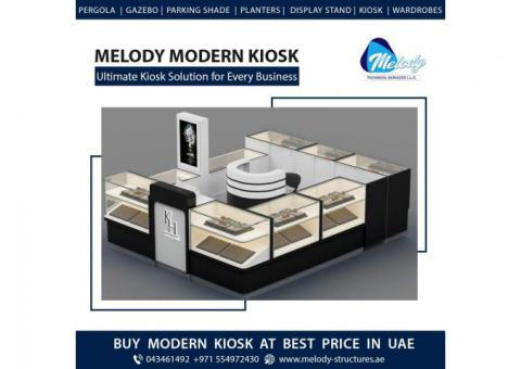 Food Kiosk Suppliers in Dubai | Wooden Kiosk in UAE