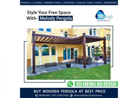 Pergola Suppliers in Dubai   Pergola Design   Creative Pergola Design & Ideas