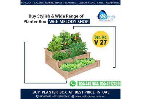 Wooden Planter Box   Vegetable Planter Box   Garden Planters Box Dubai, Abu Dhabi