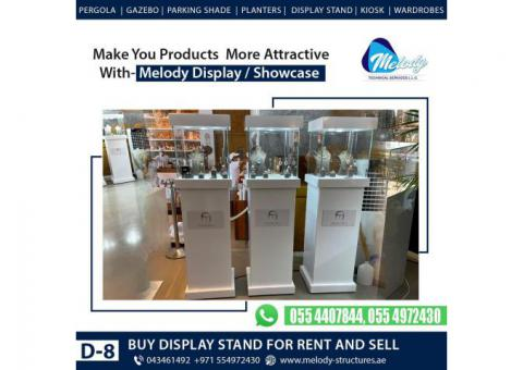 Rental Jewelry Showcase in Dubai   Jewelry Showcase Suppliers   Display Stands For Rent
