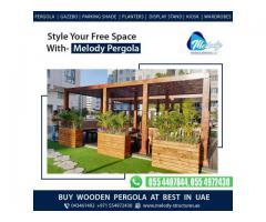 Pergola Suppliers in Abu Dhabi   Pergola For Abu Dhabi Restaurant    Wooden Pergola