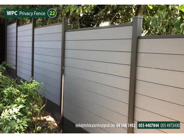 WPC Fence suppliers in UAE Dubai Abu Dhabi Sharjah   composite wood fence in Dubai
