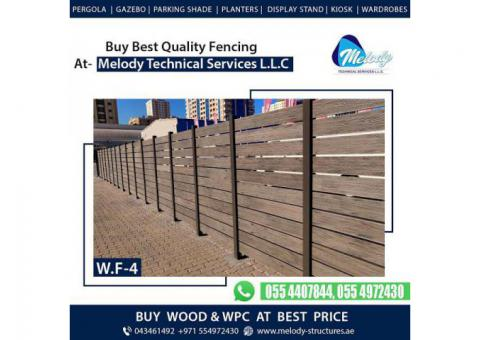 WPC Fence in Dubai | Wooden Fence Suppliers | Kids Play Fence in Dubai
