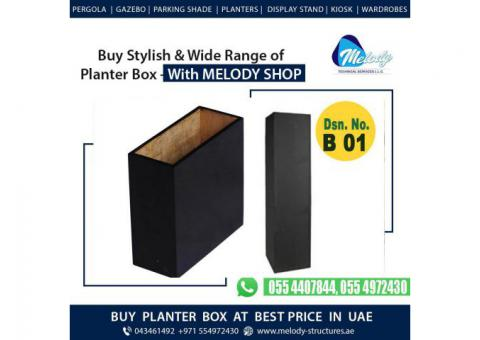 Decorate Your Garden with Melody Planter Box | Planter Box Suppliers in Dubai
