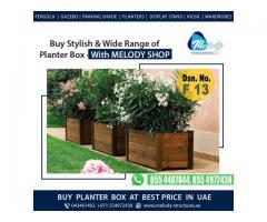Decorate Your Garden with Melody Planter Box   Planter Box Suppliers in Dubai