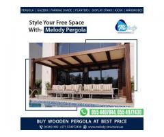 Pergola Contractors in Dubai | Pergola Suppliers in Dubai | Buy Wooden Pergola in Dubai