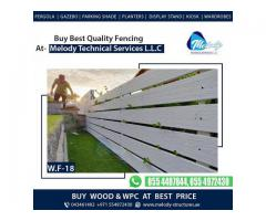 WPC Fence Price in Dubai   Buy WPC Fence At Dubai   WPC Fence Suppliers