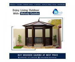 Wooden Roof Gazebo Suppliers in UAE   Gable Roof Gazebo   Gazebo in Dubai