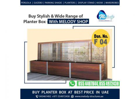Wooden Planter Box Suppliers | Buy Planter Box At Best Price in Dubai