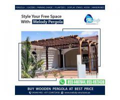 Buy Wooden Pergola At 20% Discount in Dubai-Melody Pergola Design