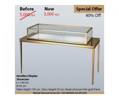 Jewelry Display Manufacturer in Dubai | Rental Display for events in UAE