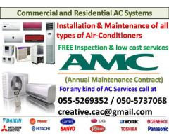 split ac clean with free gas fill 055-5269352 maintenance repair fcu chiller service uae cooling