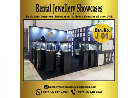 Best Design Jewelry Display Suppliers in Dubai | Display Showcases for Rent,Events,Exhibition in UAE