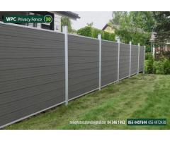 WPC Fence in Garden Area | WPC Fence main contractor in Dubai | wpcfencesuppliersdubai