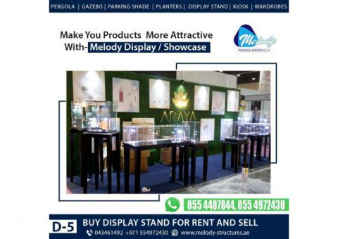 Jewellery Showcase For Dubai Events | Jewellery Display Stand For Rent in Dubai