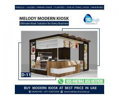 Dubai Mall Kiosk | Wooden Kiosk Suppliers | Kiosk Design in Dubai