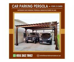 Car Parking Pergola in Dubai Villas Parking | Car Parking Pergola Abu Dhabi.
