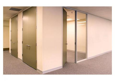 Gypsum Partition Works in Abu Dhabi | Glass Partition | Wooden Partition.