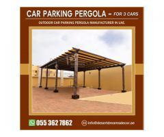 Car Parking Solutions Uae | Car Parking Pergola Manufacturer in Uae.