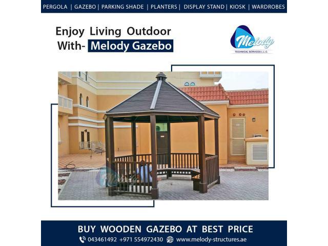 Garden Gazebo Suppliers in Dubai | Wooden Gazebo Design Gazebo in UAE