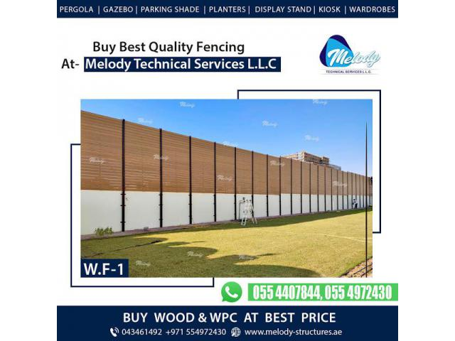 WPC Fence in Dubai   WPC Fence Design in Dubai   WPC Fence Suppliers In Dubai