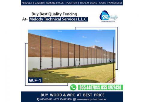 WPC Fence in Dubai | WPC Fence Design in Dubai | WPC Fence Suppliers In Dubai