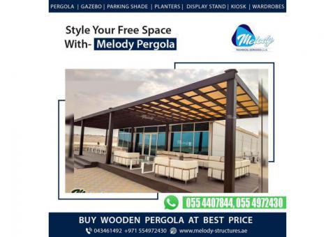 Pergola in Green Community | Pergola in Jumeirah | Wooden Pergola in Dubai