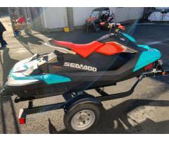 2018 Sea-Doo Spark Trixx 2 Passenger IBR WhatsApp +13236413248