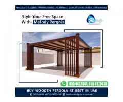 Wooden Pergola In Al Qusais | Pergola in Jumeirah | Pergola Suppliers Dubai