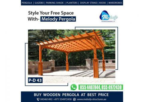 Modern Pergola Suppliers in Dubai - Melody Pergola UAE