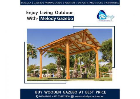 Wooden Gazebo Suppliers in Dubai   Garden Gazebo Manufacturer in Dubai