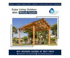 Wooden Gazebo Suppliers in Dubai | Garden Gazebo Manufacturer in Dubai
