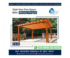Pergola Manufacturer in Dubai | Wooden Pergola | Pergola Suppliers