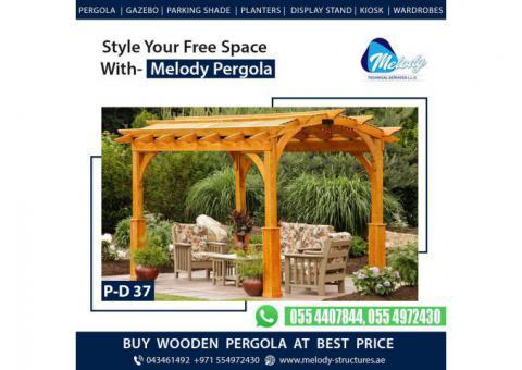 Pergola in Dubai | Garden Pergola Suppliers | Wooden Pergola in UAE