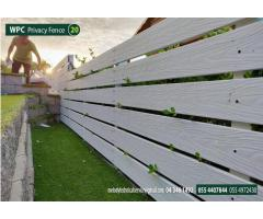 WPC Fence ( Wood Plastic Composite ) Supply and fixing in Dubai Abu Dhabi Sharjah UAE
