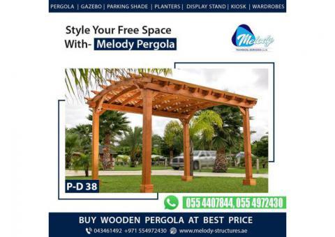 Arched Pergola Design | Arch Pergola Suppliers in Dubai | Arch Pergola Wooden