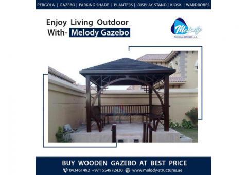 Wooden Gazebo | Buy Gazebo in Dubai | Garden Gazebo Suppliers in UAE