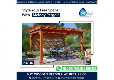 Buy Pergola in Dubai At Best price | Pergola Suppliers UAE