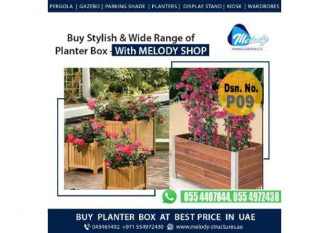 Decorate Your Garden with Melody Planter Box in Dubai