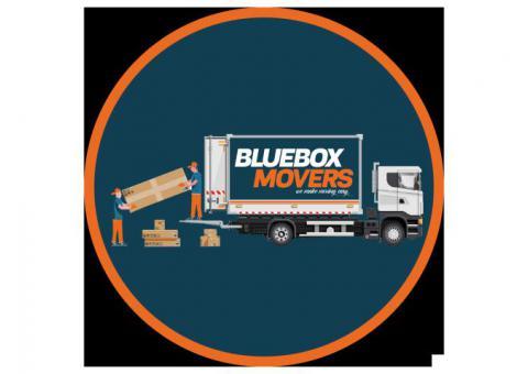 0501566568 BlueBox Movers in Maple Dubai Hills Villa,Office,Flat move with Close Truck