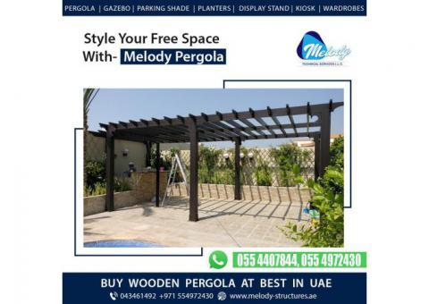 Wooden pergola Suppliers in Dubai | Outdoor Pergola in UAE | Pergola Manufacturing in Dubai